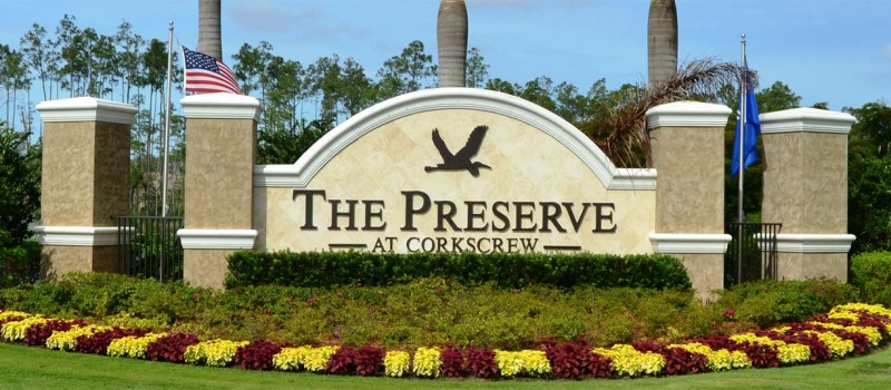 Preserve at Corkscrew Southwest Florida