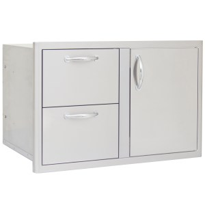 32 Access Door and Double Access Drawer