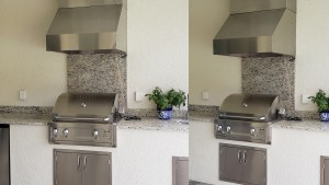 Existing Outdoor Kitchen Upgrade WCI Community