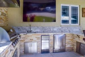 Blaze Ice Maker and 5.2 CU Ft. Refrigerator with Trim Kits