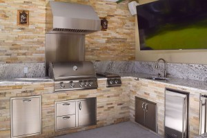 Blaze 32 Inch Built-in LTE Gas Grill - Elegant Outdoor Kitchens of Fort Myers, Florida
