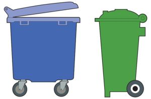 The Best Outdoor Garbage Cans with Locking Lids And Wheels