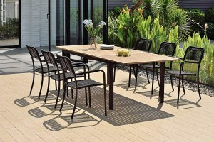 best extendable outdoor dining table