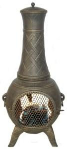 cast aluminum chimneas
