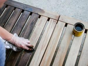 How to refinish teak outdoor furniture