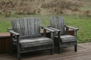 How to restore weathered outdoor wood furniture