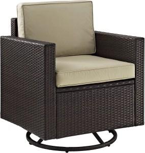 Crosley furniture is one of the best outdoor swivel rockers