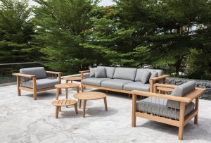 Teak furniture for comparing eucalyptus vs teak for outdoor furniture