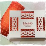 Friendship card with envelope made with Stampin