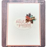 Thank You Card made with Beautiful Autumn bundle by Stampin