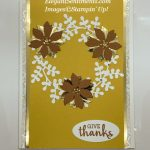 Give Thanks Card made with Stampin