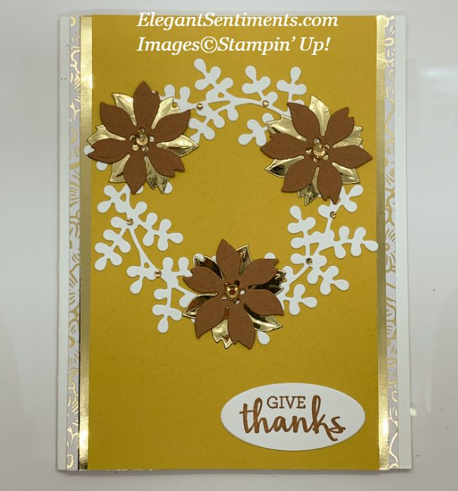 Give Thanks Card made with Stampin' Up! products
