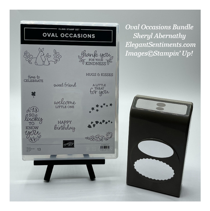 Oval Occasions Stamp and Punch Bundle by Stampin' Up!