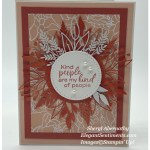 Kindness Card made with Stampin