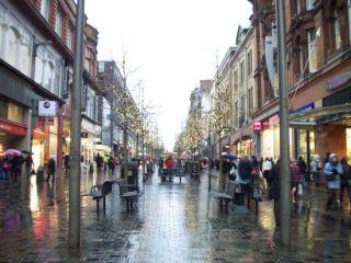 Glasglow city street