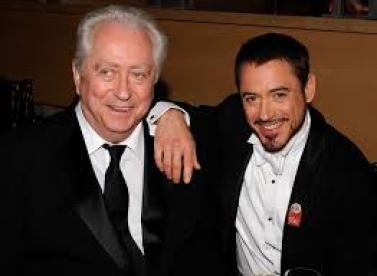 Robert Downey Jr. and his father