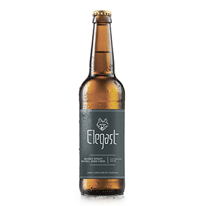 Elegast Whiskey stout barrel aged Cider