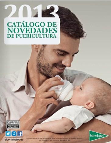 Catálogo del Corte Inglés de puericultura