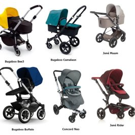 Mejores carritos de bebé: clasificación para el año 2017