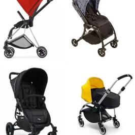 Los carritos de bebé más ligeros, plegables y compactos del mercado