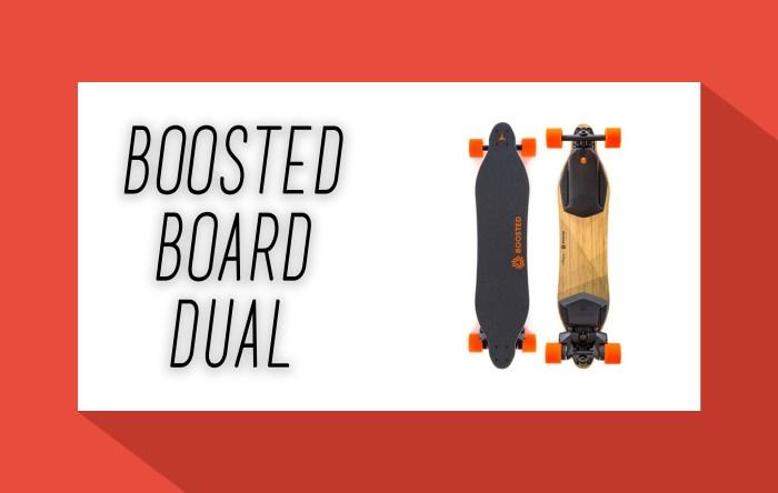 Boosted Board Dual - Elektro Skateboard - elektrisches Skateboard - Elektro Skateboards - elektrische Skateboards - eboard - eskateboard