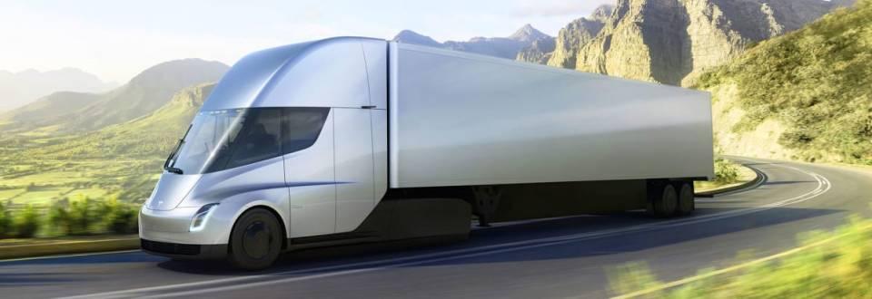 Tesla Vollelektrischer Truck - Semi