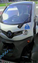Renault Twizy von Renault Österreich beim Testfahren auf der greenExpo 2013 in Wien