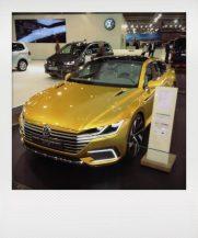 Schick, schick: VW Sport Coupe?- Studie. leider nur teil-elektrisch, im E-Modus gerade einmal 50 km.