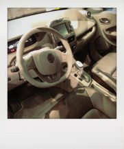Der ZOE ist jetzt auch als Bose Edition zu haben. Mit Leder, Sitzheizung und Bose Sound-System. Ein Hauch von Lusxus.