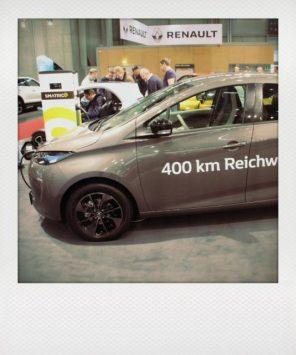 """Brandneu: der Renault ZOE mit doppelter Reichweite: 400 km! Zur zeit Platz 2 nach Tesla im """"Range-Contest!"""""""