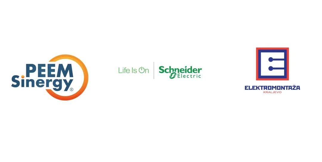 Potpisan je Ugovor za stratško partnerstvo kompanije PEEM Sinergy sa multinacionalnom kompanijom Schneider Electric