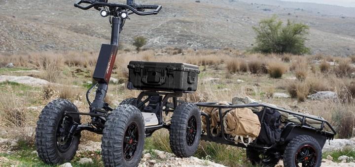 Армия США испытывает вездеходный электрический скутер для тактического использования
