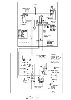 AIRWELL WMZ22 WIRINGDIAGRAM Service Manual download