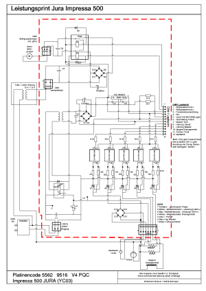 JURA ENA CHASSIS ENA5 Service Manual free download, schematics, eeprom, repair info for electronics