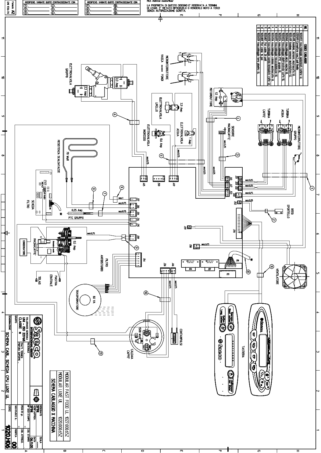 Saeco Modular Wiring Service Manual Download Schematics
