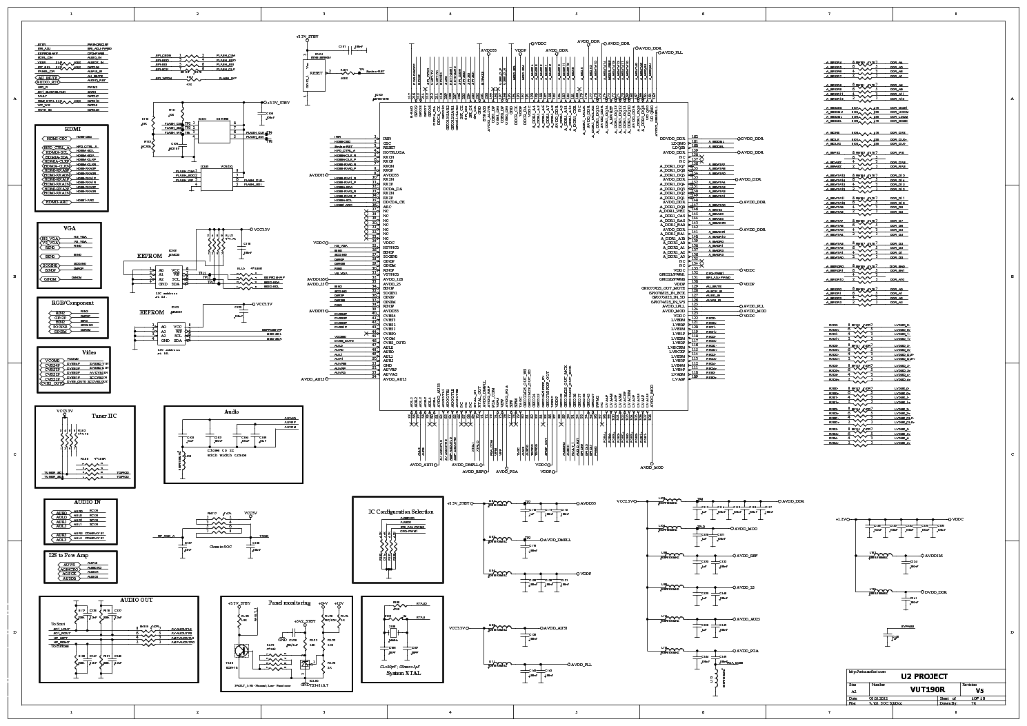 Beko Tel Chassis 12 7 Circuit Diagram Service Manual