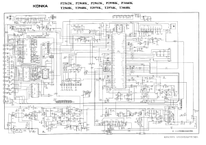 KONKA SCHEMATIC DIAGRAMS T2568KTDA9383,LA7845,TDA16846