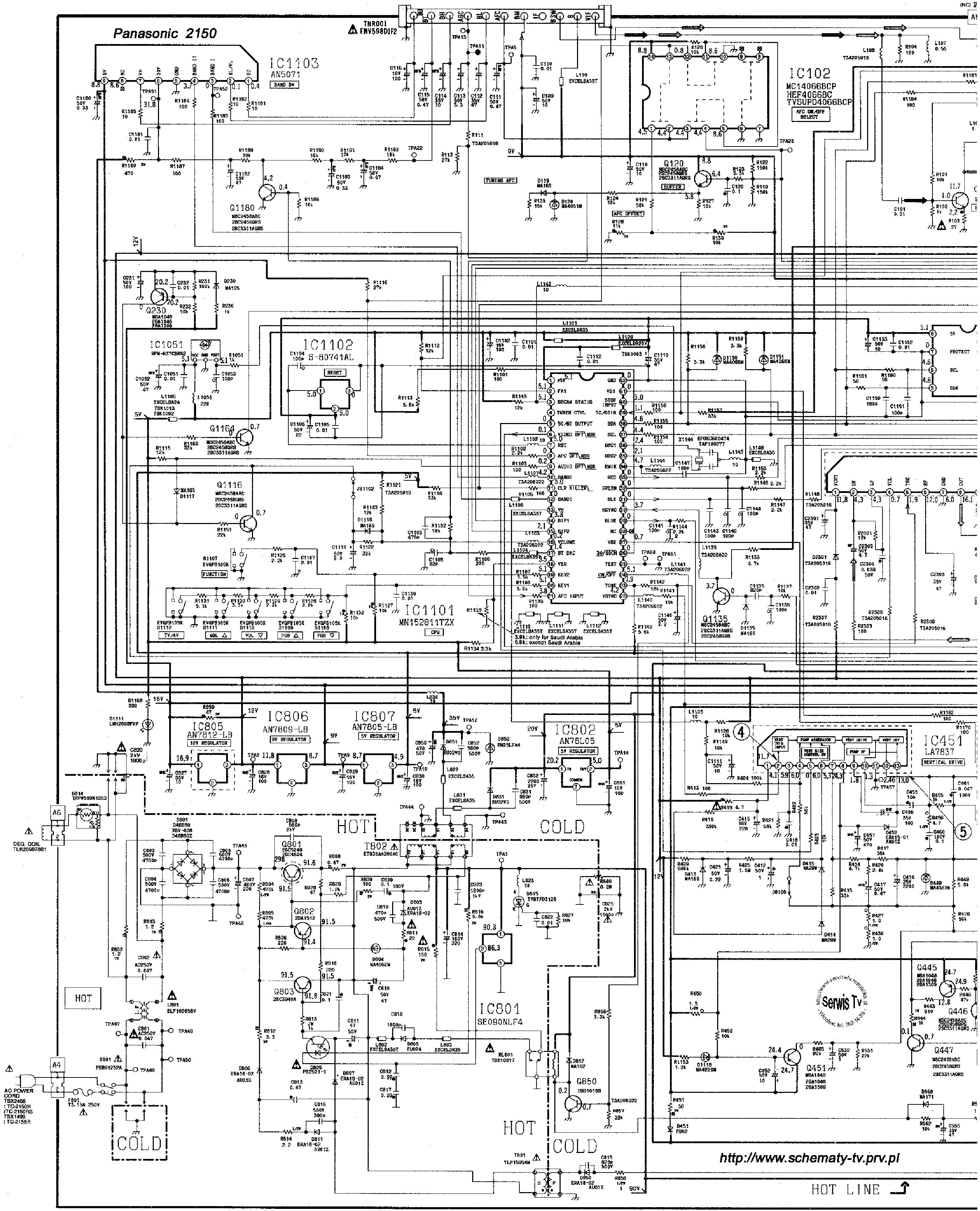 Panasonic Tc Service Manual Download Schematics