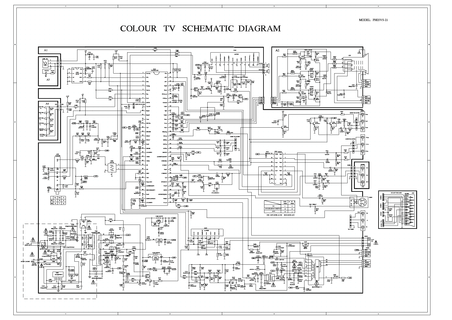 Polar Chassis M113 Sch Service Manual Download Schematics Eeprom Repair Info For Electronics