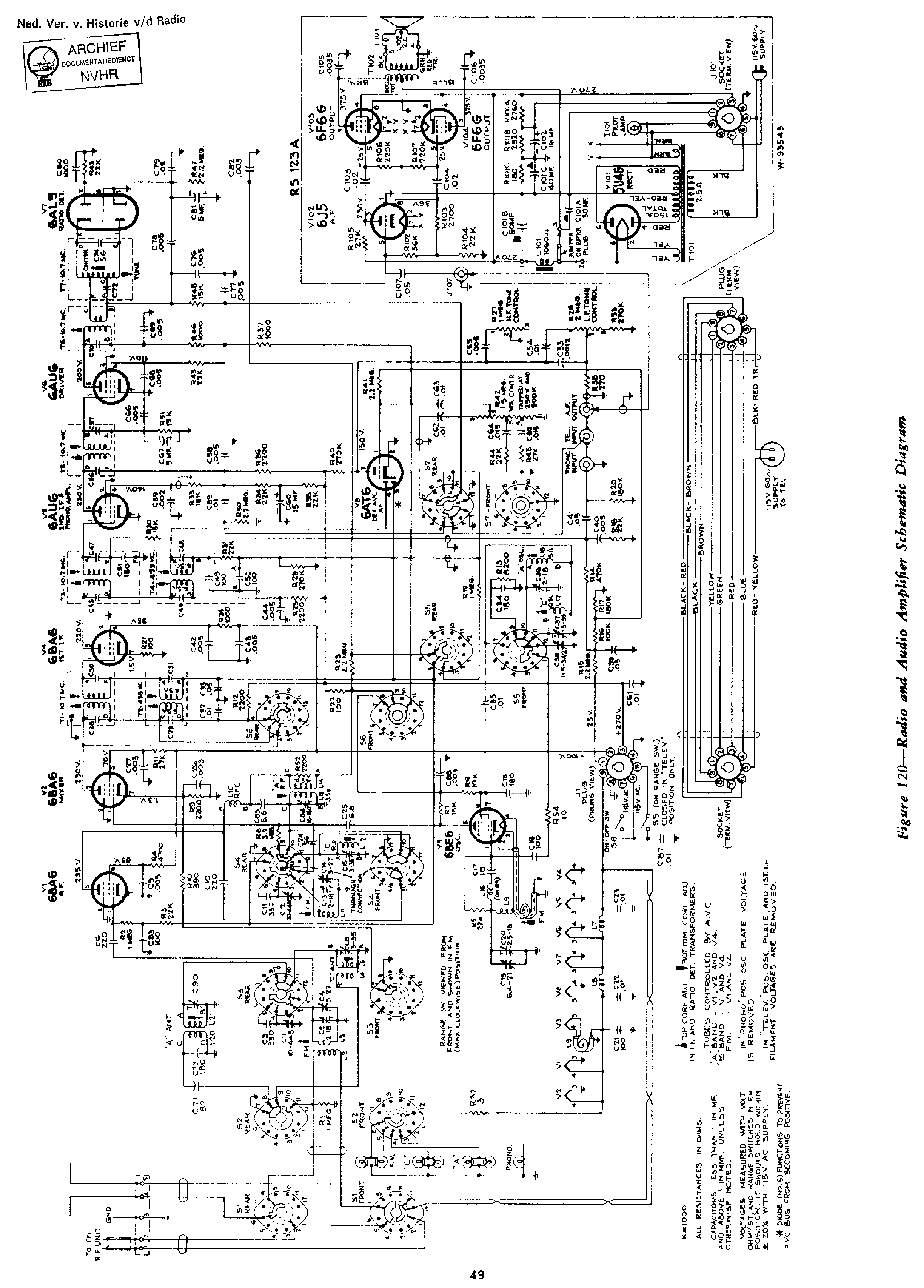 Rca Rs 51 Service Manual Download Schematics Eeprom