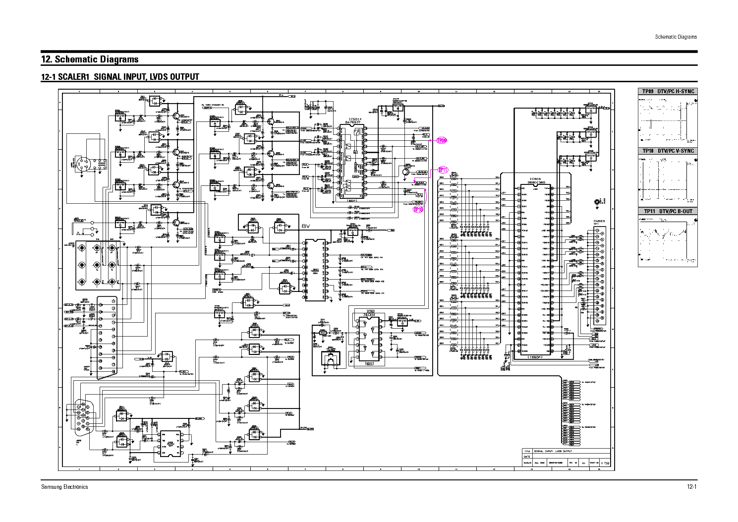 Led Tv Circuit Diagram
