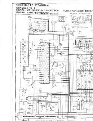 SAMSUNG TXD1972CHASISK1CIRCUITDIAGRAM Service Manual