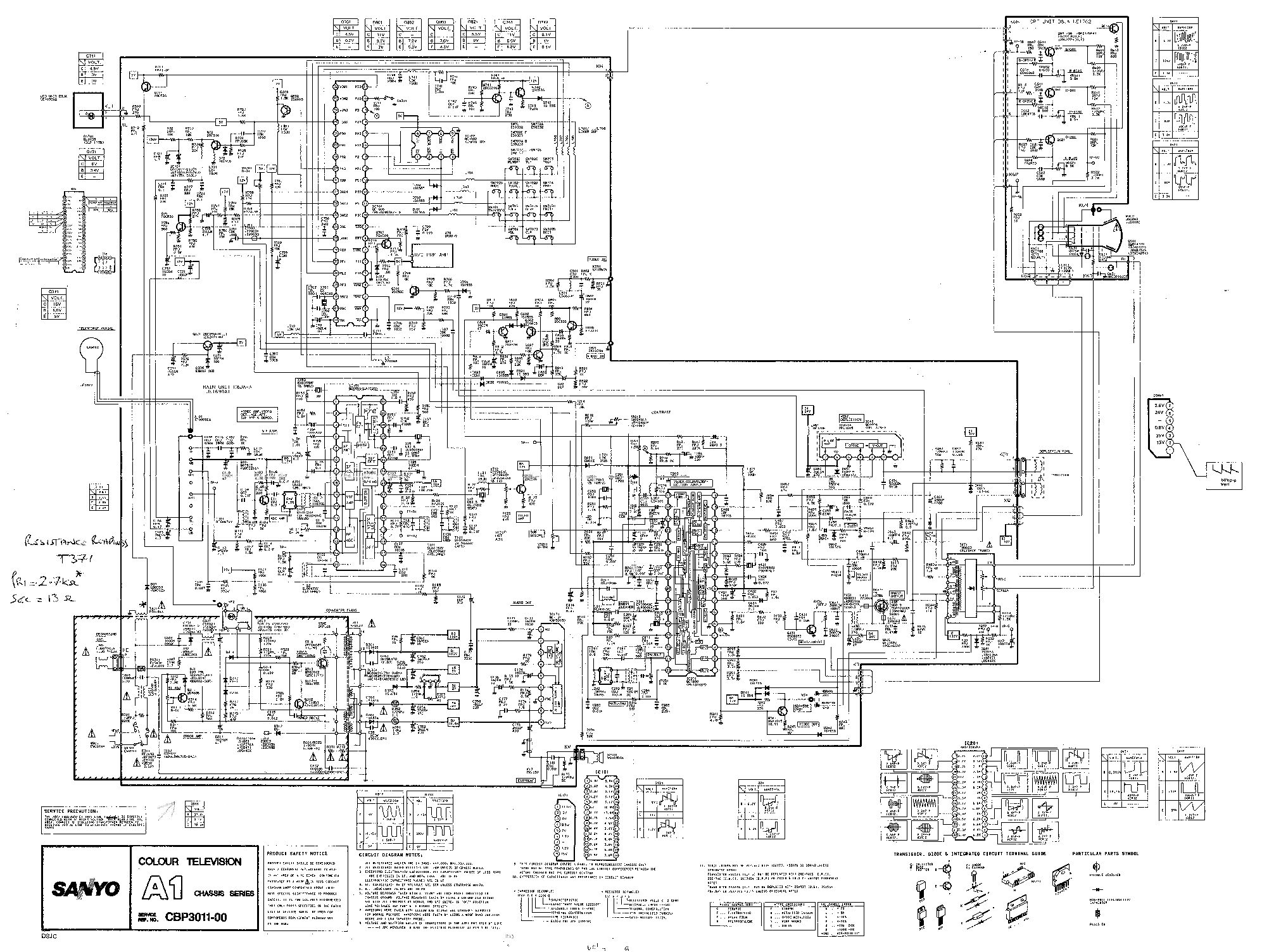 Sanyo Lcd 32k30 Chassis Uh4 B Service Manual Download Schematics Eeprom Repair Info For