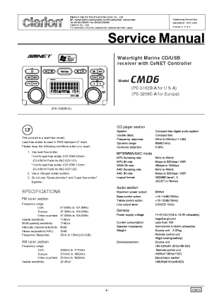 clarion m309 wiring diagram Images  Frompo