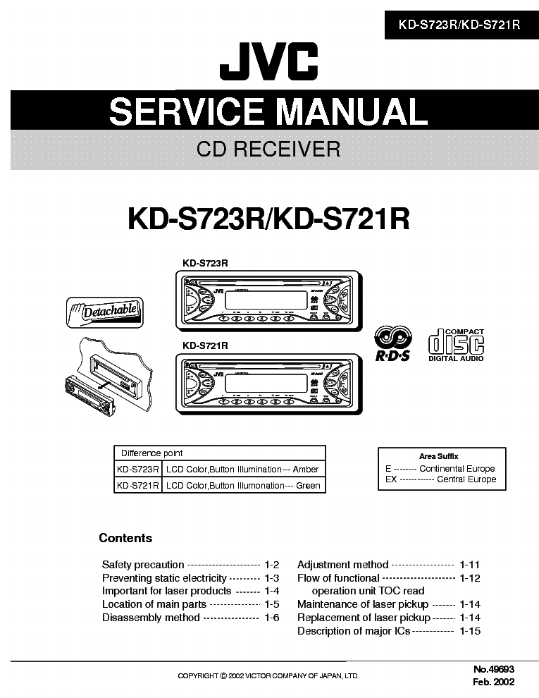 jvc_kd s723r_kd s721r.pdf_1?resize=665%2C861&ssl=1 100 [ wiring diagram for jvc ] wiring harness diagram for jvc jvc kd-x250bt wiring harness at crackthecode.co