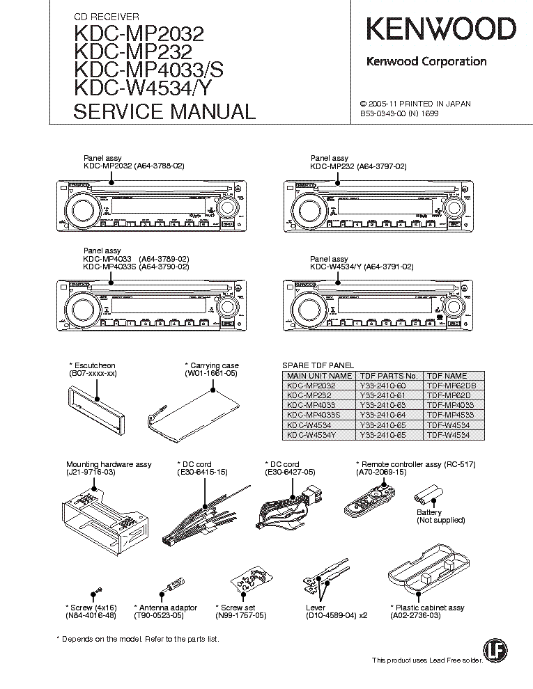 kenwood_kdc mp2032_mp232_mp4033_w4534.pdf_1?resize\=665%2C861 kenwood dnx6190hd wiring diagram wiring diagram kenwood dnn770hd kenwood dnn770hd wiring diagram at gsmx.co