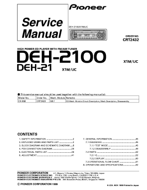 Wiring Diagram Pioneer Deh 2100 Radio – readingrat