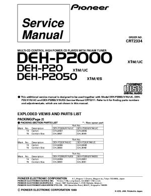Pioneer Deh P2000 Wiring Diagram  Somurich