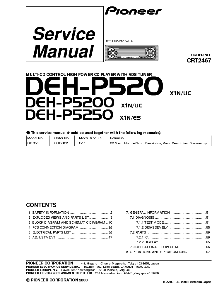 pioneer_deh p520 p5200 p5250 crt2467.pdf_1?resize\=665%2C861\&ssl\=1 pioneer deh 2000 wiring diagram pioneer deh 1300 wiring diagram Whirlpool Dishwasher Model Numbers Listings at alyssarenee.co