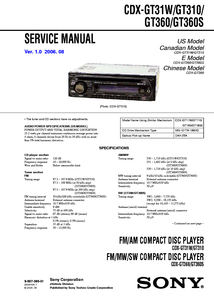 sony_cdx gt31w_gt310_gt360_gt360s_ver 1.0_sm.pdf_1 techno step wiring diagram diagram wiring diagrams for diy car  at reclaimingppi.co